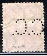 JAPON 538 // YVERT 204 (PERFORÉ: C.C.) // 1929 - 1926-89 Emperor Hirohito (Showa Era)