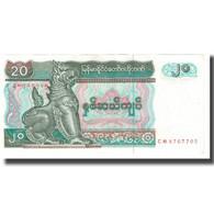 Billet, Myanmar, 20 Kyats, KM:72, SUP - Myanmar
