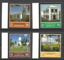 BERMUDA  2010 AFRICAN DIASPORA HERITAGE TRAIL,CHURCHES,MUSEUM.. SET MNH - Bermuda