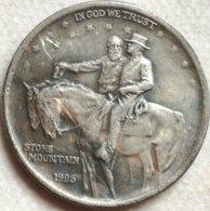 RÉPLICA Moneda Aniversario Stone Mountain. General Robert E. Lee - Grant. ½ Dólar. 1925. Estados Unidos De América - EDICIONES FEDERALES