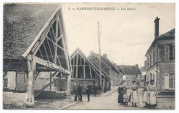 DAMMARTIN EN SERVE ( 78 - Yvelines ) - Les Halles ( Très Animée , Personnes , Rue ) - TTB Etat - Autres Communes