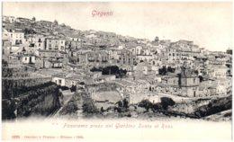 GIRGENTI - Panorama Preso Dal Giardino Santo Di Rosa - Italia