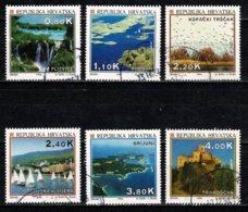 Hrvatska 1994 - 6 Zegels/timbres/stamps/briefmarken Yv. 233, 235/39 Used / Gebr / Obl. - Croatie
