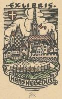Ex Libris Hans Hegedus - Otto Feil Gesigneerd - Ex-libris