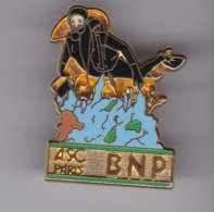 Pin's   PLONGEE A S C BNP SIGNE BALLARD - Tauchen