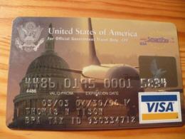 Citibank VISA Credit Card USA - Cartes De Crédit (expiration Min. 10 Ans)