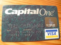 Capital One VISA Credit Card USA - Cartes De Crédit (expiration Min. 10 Ans)