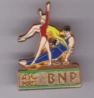 Pin's   GYMNATIQUE A S C BNP SIGNE BALLARD - Gymnastiek