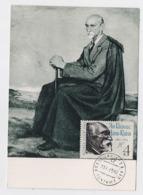 CARTE MAXIMUM CM Card USSR RUSSIA Literature Poet Writer Janis Rainis Latvia - 1923-1991 URSS