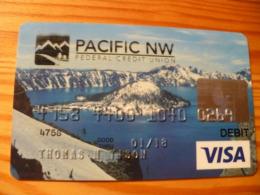 Pacific NW VISA Credit Card USA - Cartes De Crédit (expiration Min. 10 Ans)