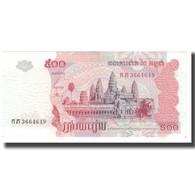 Billet, Cambodge, 500 Riels, 2004, KM:54b, TTB - Cambogia