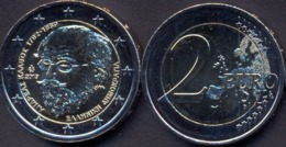 Greece 2 Euro 2019 UNC > 150 Years Since The Death Of Andreas Kalvos - Grèce