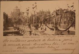 Amsterdam // Souvenir Inhuldiging - De Hoogesluis 1898!! - Amsterdam