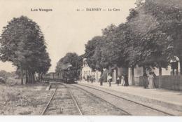 DARNEY: La Gare (train à Vapeur) - Darney