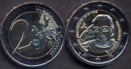 Greece 2 Euro 2019 UNC > 100 Years Since The Birth Of Manolis Andronikos - Grèce