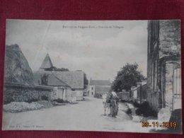 CPA - Environs De Pacy-sur-Eure - Une Rue De Villegats - Pacy-sur-Eure