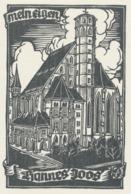 Ex Libris Hannes Joos - Door Otto Feil - Ex-libris