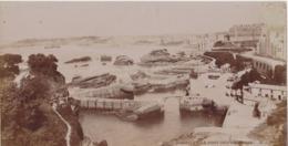 Carte Postale Géante : Biarritz Carte-photo, Le Port Des Pêcheurs - G.J. Photo - Biarritz