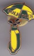 Pin's   GOLF PLUS SIGNE ARTHUS BERTRAND - Golf