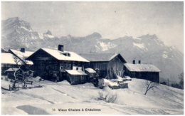 VD - Veix Chalets à CHESIERES - VD Vaud