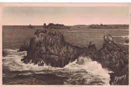 Île D'Ouessant- Porz Milin ** T.bé- Belle Cpa De 1951 ** Ed. Berthelé (D'Art Hamonic  à St Brieuc) N° - Ouessant
