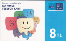 TURKEY - Gülen Yüz ,Ekim 2016, C.H.T. - CHT05 ,4₤ Turkish Lira ,11/13, Used - Turquie