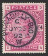 1883-84   Yvert Nº 87 - 1840-1901 (Victoria)