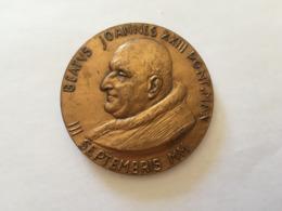 MEDAGLIA PAPA GIOVANNI XXIII MANFRINI-SENESI. - Italia