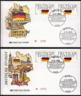 Germany Berlin Bonn 1990 / German Unity, United  / Deutsche Einheit / Flag - Andere