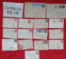 ITALIA + MISTO, Circa 200 Cover/post Card, Tema Vario Da Periodo II Guerra M. A Giorni Nostri. - Postzegels