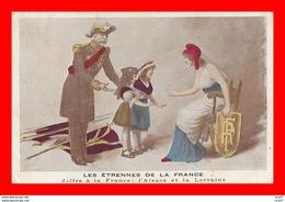 CPA MILITARIA Guerre 14-18. Joffre à La France: L'Alsace Et La Lorraine...CO2005 - Weltkrieg 1914-18