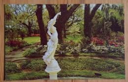 "Wilmington NC - ""Spring Star"" At Orton Plantation - Statue By Sculpturer Andreni - White Azalea Garden - (n°16516) - Wilmington"
