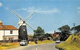 Norfolk, Mundesley On Sea, Paston Mill, Coast Road, Windmill, Auto, Cars - Angleterre