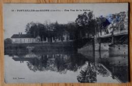 21 : Pontailler-sur-Saône - Une Vue De La Saône - (n°16517) - France