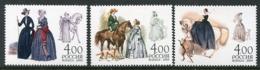 RUSSIA 2004 Equestrian Costumes MNH / **.  Michel 1187-89 - 1992-.... Federazione