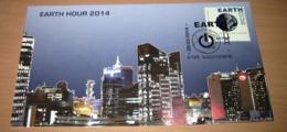 FDC V. 2014 België - 4405(o) Eerstedagstempel /(Cachet Première Jour) Earth Hour 2014 - 2011-...
