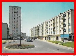 CPSM/gf (60) CREIL.  Cavée De Senlis, Rue Blaise Pascal, Centre Commercial, Animé, 2CV....S1873 - Creil