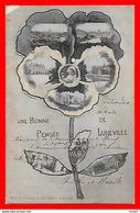 CPA (54) LUNEVILLE.  Une  Bonne Pensée De Lunéville, Multivues...S1841 - Luneville