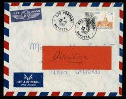 976 MAYOTTE  Petit Bureau Période Timbre France Au Tarif 2,30 Tàd POROANI 22-8-1990  Superbes Frappes - Unclassified