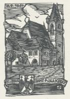 Ex Libris Franz Und Lola Kubat - Otto Feil - Ex-libris