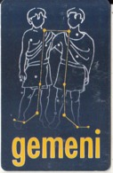 ROMANIA(chip)  - Zodiac/Gemini, Chip GEM3.3, 01/01, Used - Zodiaco