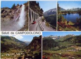 Saluti Da Campodolcino - Formato Grande Non Viaggiata – E 14 - Italy