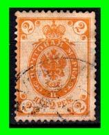 FINLANDIA GRAN DUCADO DE FINLANDIA DE LA RUSIA IMPERIAL AÑO 1891 CON PEQUEÑOS CÍRCULOS EN LAS ESQUINAS. - Finland