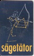 ROMANIA(chip)  - Zodiac/Sagittarius, Chip GEM3.1, 11/00, Used - Zodiaco