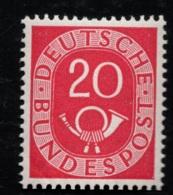 1951 - 52 Posthorn DE 130 Sn DE 677 Yt DE 16 Sg DE 1052 AFA DE 1093 Postfr. Xx - [7] West-Duitsland