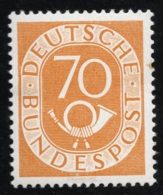 1951 - 52 Posthorn DE 136 Sn DE 683 Yt DE 22 Sg DE 1058 AFA DE 1099 Mit G. Und Falz (x) - Used Stamps