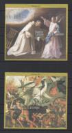 """SIERRA LEONE...QUEEN ELIZABETH II.(1952-NOW)...""""  CHRISTMAS...1997..."""".......2 X MINI SHEETS. ...MH... - Noël"""
