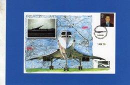 CONCORDE  -  First Test Flight 1975  -  CPM - 1946-....: Modern Tijdperk