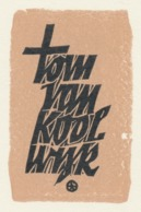 Ex Libris Tom Van Koolwijk 1968 - Otto Feil - Ex-libris