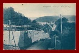 Plougasnou * Route De La Plage      ( Scan Recto Et Verso ) - Plougasnou